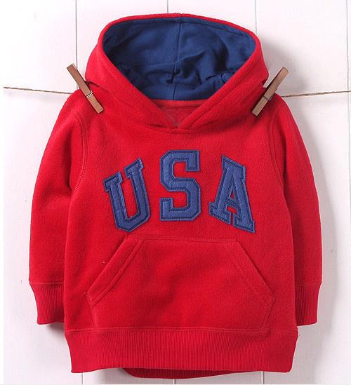 2-6 yrs children hoodies fleece lining casual baby boy girl sweatshirt kids clothes moleton infantil roupas meninos jacket coat(China (Mainland))