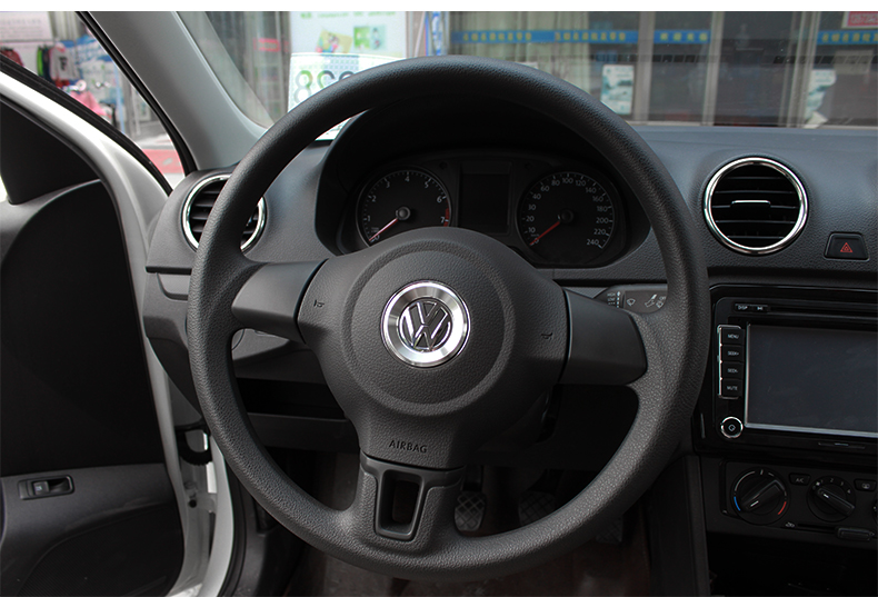 car interior steering wheel accessories for volkswagen vw golf 6 7 mk6 mk7 jetta mk5 mk6 polo cc. Black Bedroom Furniture Sets. Home Design Ideas