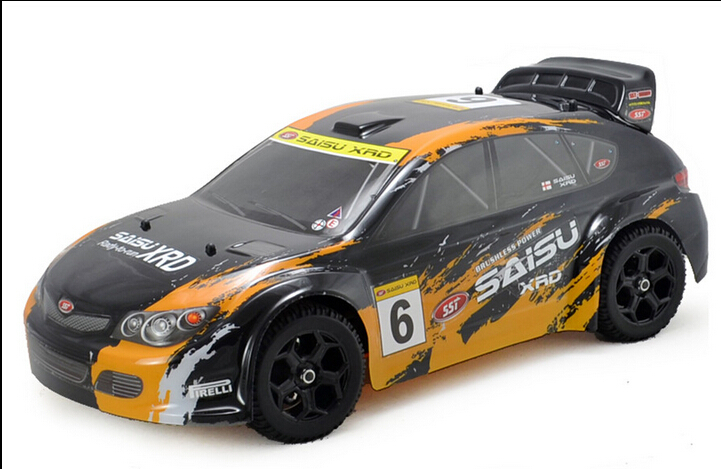 1/9 scale 4wd nitro powe rally car RC car kit without remote control and electric device(China (Mainland))