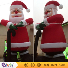 Buy outdoor christmas inflatable santa claus crutch 8m high factory direct sale BG-A0376 toy for $850.00 in AliExpress store