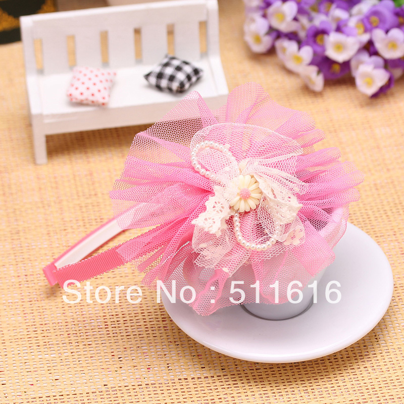 2013 New Cute Fashion Beautiful Headband Baby Flower,Hair Accessories For Children Girls Christmas Gift WholesaleОдежда и ак�е��уары<br><br><br>Aliexpress