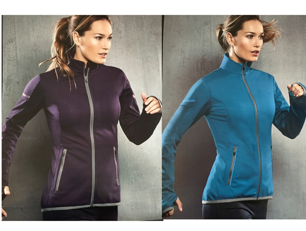 winter women running fleece jacket softshell sports tops windproof cold resistant coat outdoor sports camping hiking clothes