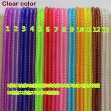 Plastic spring Protective sleeveTablet Spiral Cord Protector for Charger Earphone Cords HCP04(China (Mainland))