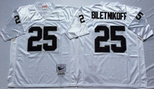 12 Ken Stabler 16 Jim Plunkett Throwback 32 Marcus Allen 34 Bo Jackson Retro Black White 25 Fred Biletnikoff(China (Mainland))