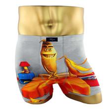 2016 HOT SALE Cotton Underwear Men Sexy Mens Underwear Boxers Cartoon Mens Cotton Boxer Shorts Print Men Underpants Megat Cuecas(China (Mainland))