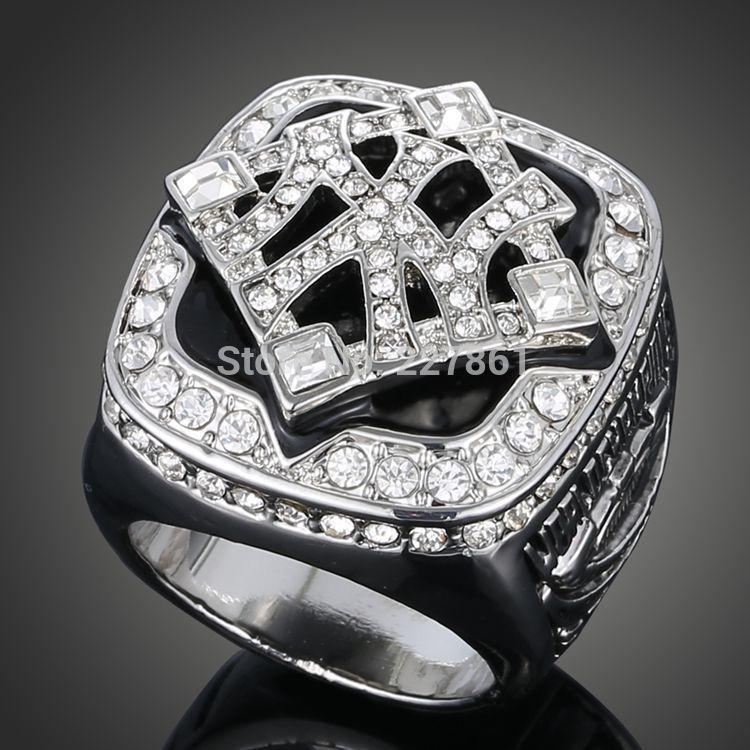 2009 occupation baseball Yankees Super Bowl champion rings With Gift box size 7 8 9 10(China (Mainland))
