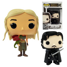 Game of Thrones Funko Pop Game of Thrones Jon Snow action figure 10cm model With Gift Box In store best gift