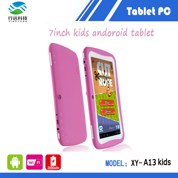 Kids Tablet PC Children Education 7 inch Dual Core RK2926 Android 4.1 512MB RAM 4GB ROM Games Apps - Walk Long LTD store