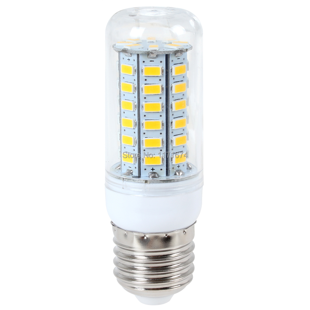 E27 18w 56 X 5730 Smd Led High Bright Warm White Corn Bulb Light Suitable For Home Hotel