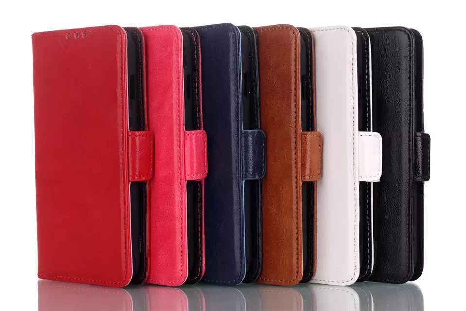 PU Leather Wallet Stand Design Flip Case Cover LG L70 Series III Shell cases Book Style ID Slot Card housing - Super store
