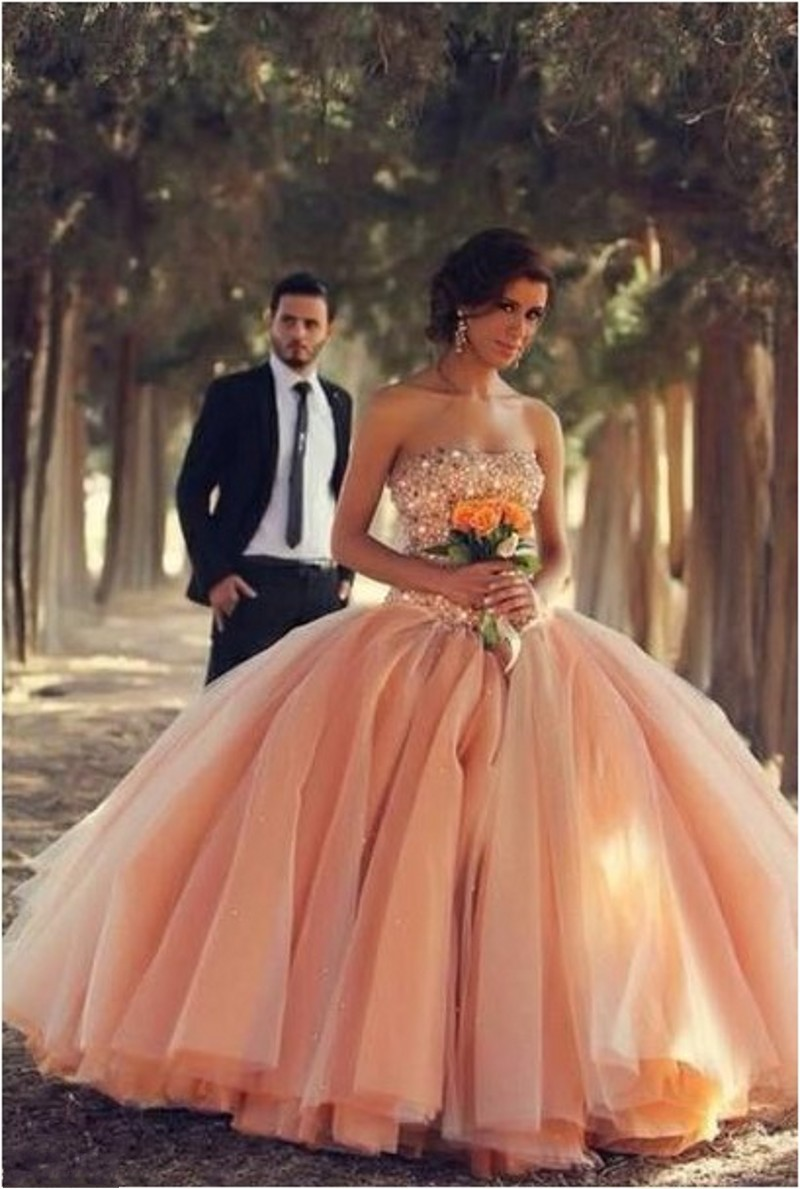 Huge Strapless Ball Gown