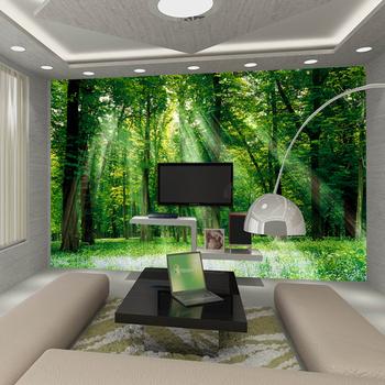 Mural sofa tv wall background wallpaper wallpaper