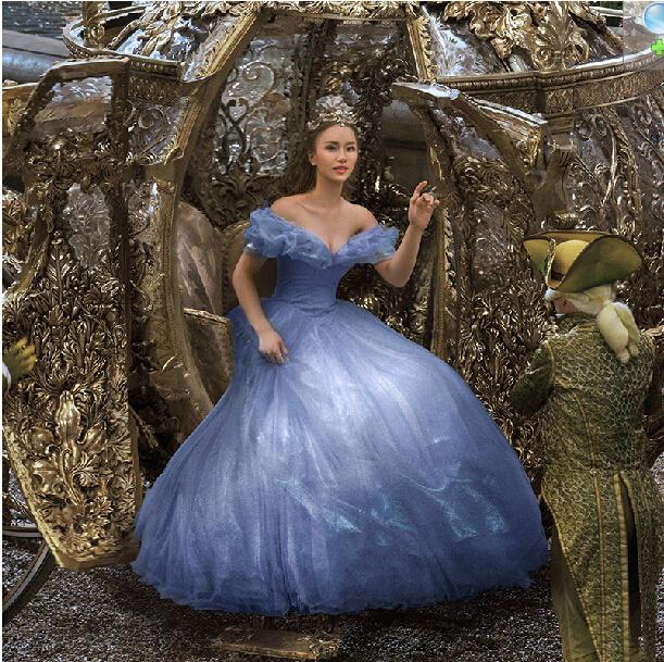 White Wedding Dress Meaning Dream : Wedding dress newest princess dream blue ball gown