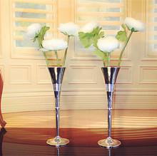 Free shipping 1046 1piar Silveriness  metal vase mini vase,Home Decoration(China (Mainland))