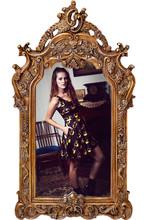 1171 fashion Women 3D printing Hallowmas pumpkin prints elastic summer sexy Girl skater one-piece pleated dress