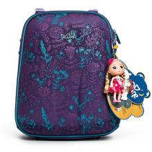Delune изображения бабочки и цветка школьные рюкзаки для девочек мультфильм детей ортопедические Рюкзаки Мультфильм Mochila Infantil класс 1-3(China)