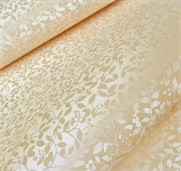 Cheap authentic engineering fiber wallpaper restaurant hotel flowers for walls wall papers wedding wall covering home decor 3d b(China (Mainland))