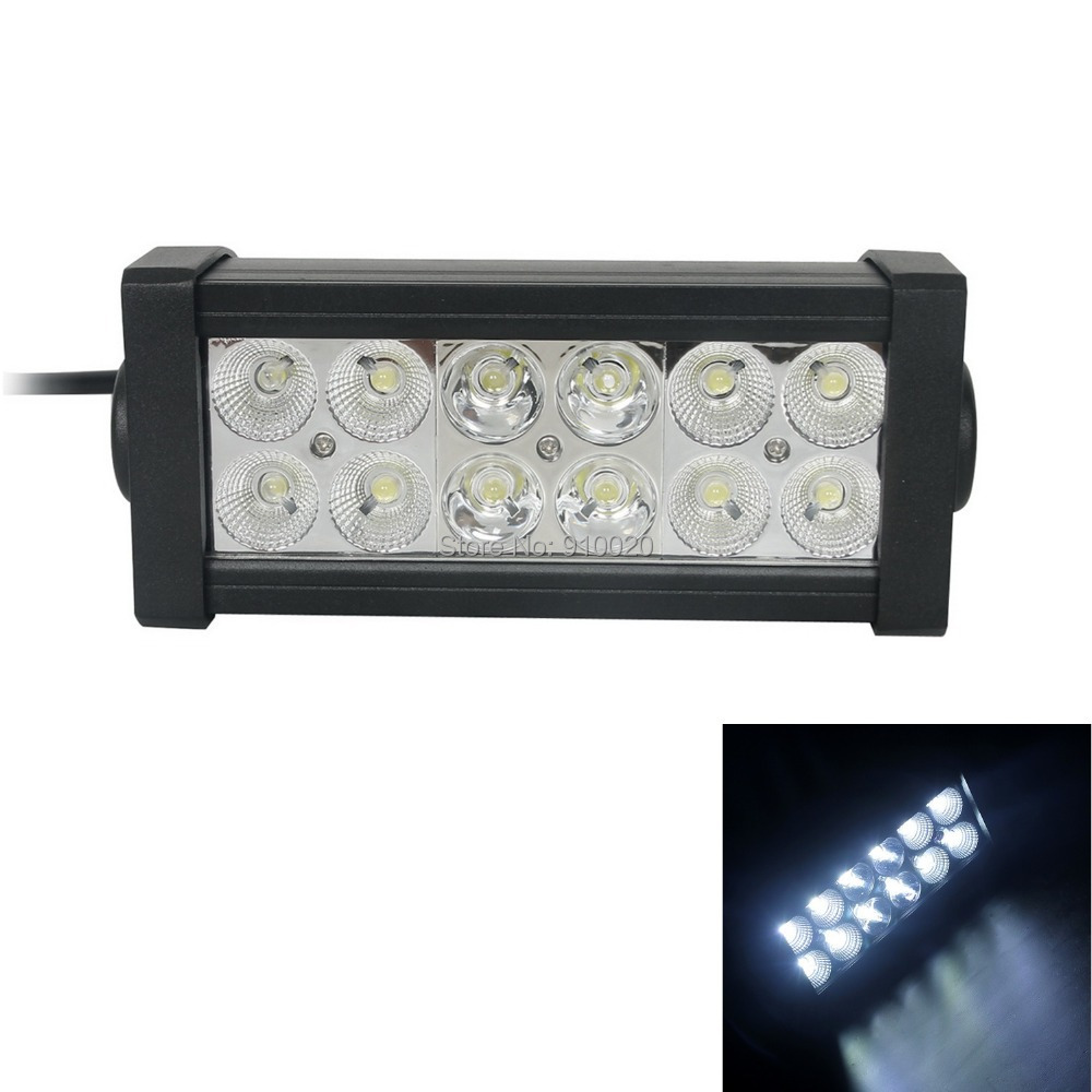 7.5Inch One Piece 36W 12-Epister LED 6000K Work Light Bar Tractor Boat Off-Road Flood Spot Combo Beam - Shenzhen Epanel Technology Limited store