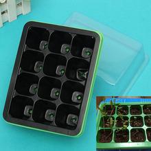 Durevole 12 celle foro vasi vivaio semi di piante grow box vassoio inserto propagazione semina caso vaso di fiori(China (Mainland))