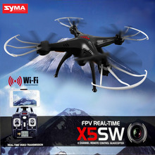 Buy SYMA X5SW FPV Drone X5C Upgrade WiFi Camera Real Time Video RC Quadcopter 2.4G 6-Axis Quadrocopter for $54.90 in AliExpress store