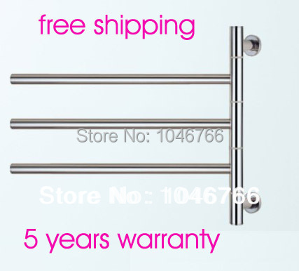 304 stainless steel towel ladder mirror polished finishing + free shipping + 5 years warranty(China (Mainland))