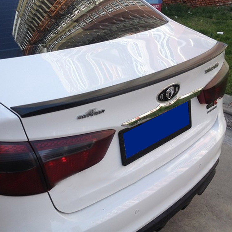 For KIA RIO/K2 Car Styling Spoiler ABS Spoilers Stable car body without Paint Free Drilling installation<br><br>Aliexpress