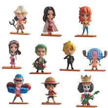 Anime One Piece Action Figures Boa Hancock Luffy Sanji Nami Robin Franky Chopper Brook Usopp sogeking PVC Figurine dolls Toys