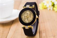 2016 Top Sale Luxury Brand Relogio Feminino Women Watches Silicone Ladies Jelly Quartz Watch Rhinestone Dress Bracelet Gift(China (Mainland))