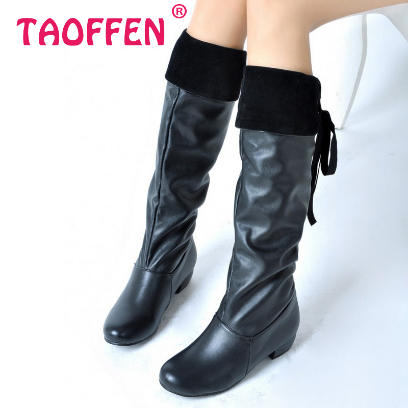 free shipping knee boots fashion boot winter