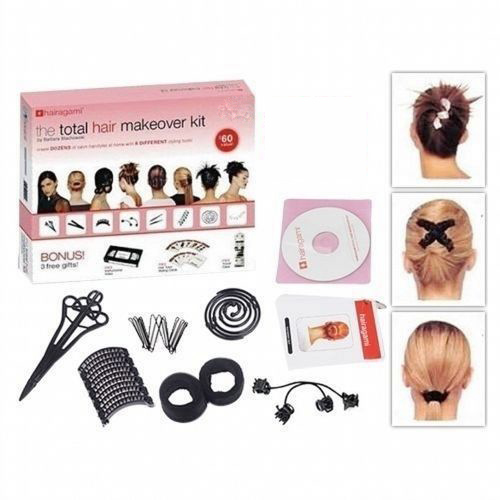 Beauty Hairagami Total 7 Sets Hair Makeover Kit Styling Accessories Headwear Perfect Styling Tool free shipping(China (Mainland))