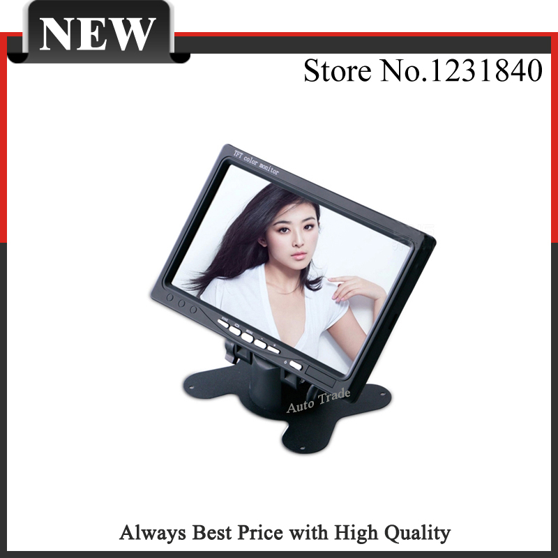 """7"""" Color TFT LCD Car Headrest Monitor 2 Ch Video Input Car Parking Rear View Monitor Para Techo for DVD VCD Reversing Camera(China (Mainland))"""