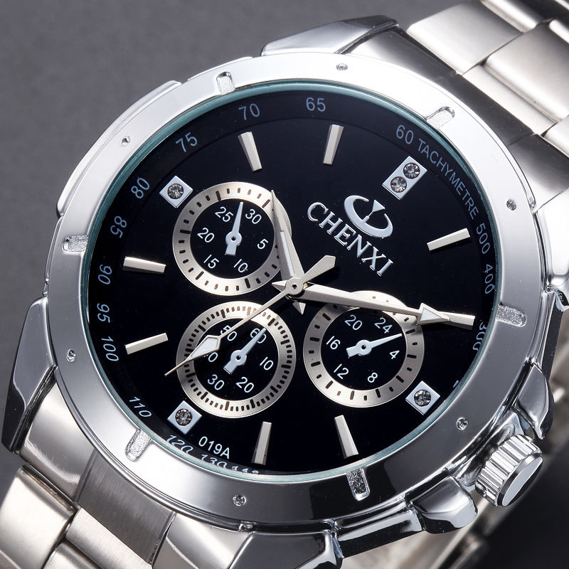 2016 Switzerland CHENXI brand high quality men's vintage diamond couple watch men women sport quartz watch(China (Mainland))