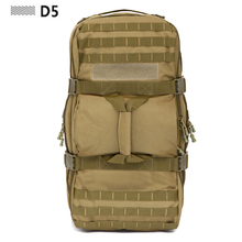 60L Men Women Military Tactical Bags Waterproof Molle Backpack 3P Tad Assault Travel Luggage Bag - D5 Column Gear Store store