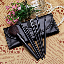 Free Shipping 7pcs Professional Portable makeup brushes make up brushes Cosmetic Brushes