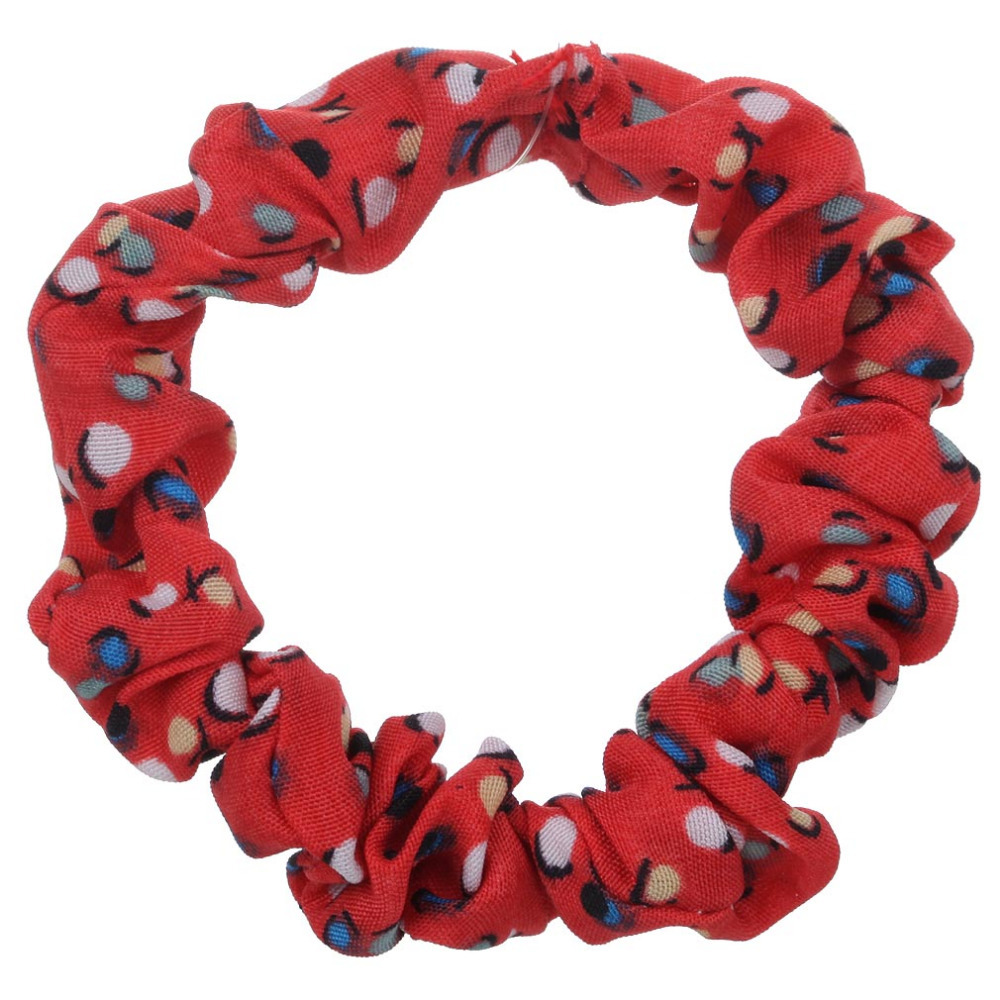 Free Shipping Korean Style 5 Colors Fabric Hair Accessories Hair Bow Wave Point Circle Dot(China (Mainland))