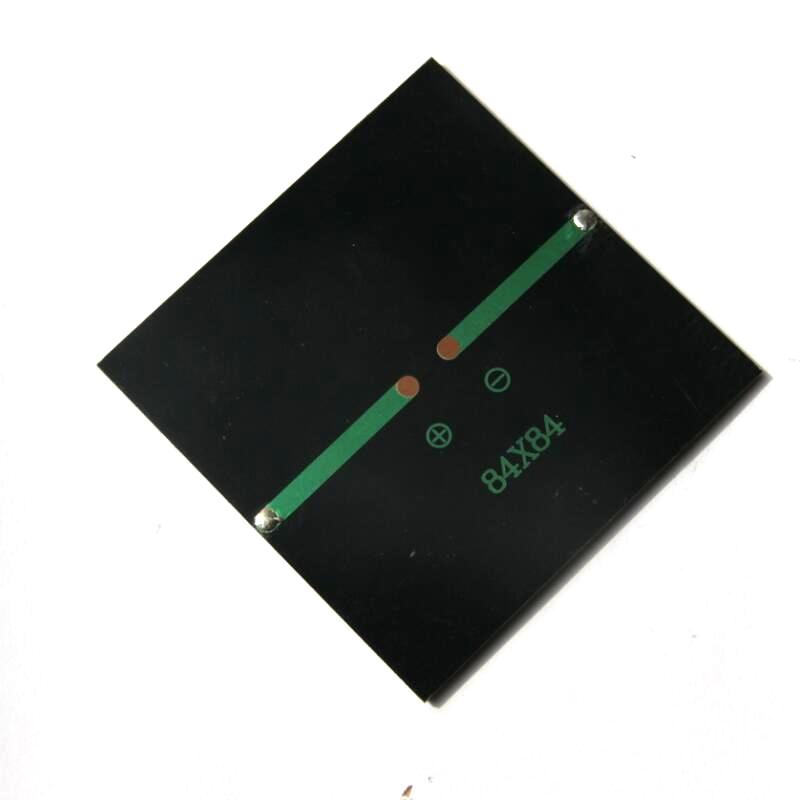 Hot Sale 12PCS/Lot 0.8W 5V Polycrystalline Solar Panel Mini Solar Cell DIY Solar Moduel Education Kits 84*84MM Free Shipping(China (Mainland))