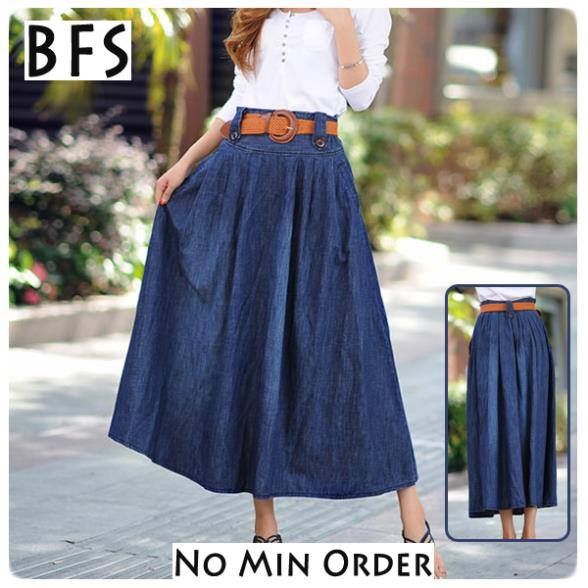 Ankle Length Skirts - Skirts