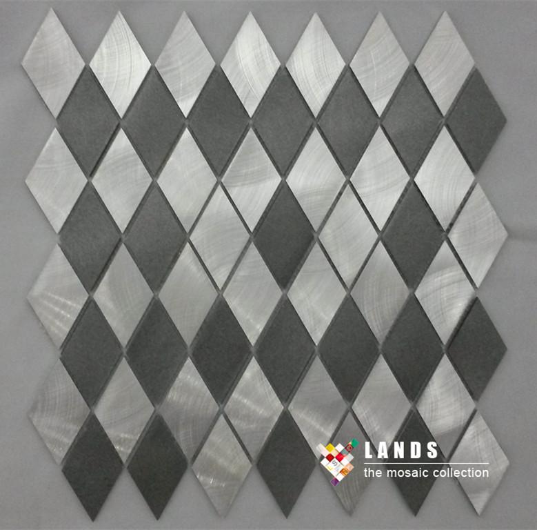 New arrivals! Hiqh quality metal mosaic,3D metal mosaic.LSALN04