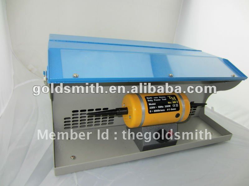 Polishing Machine with Dust Collector,polishing bench lathe,grinding polisher(China (Mainland))
