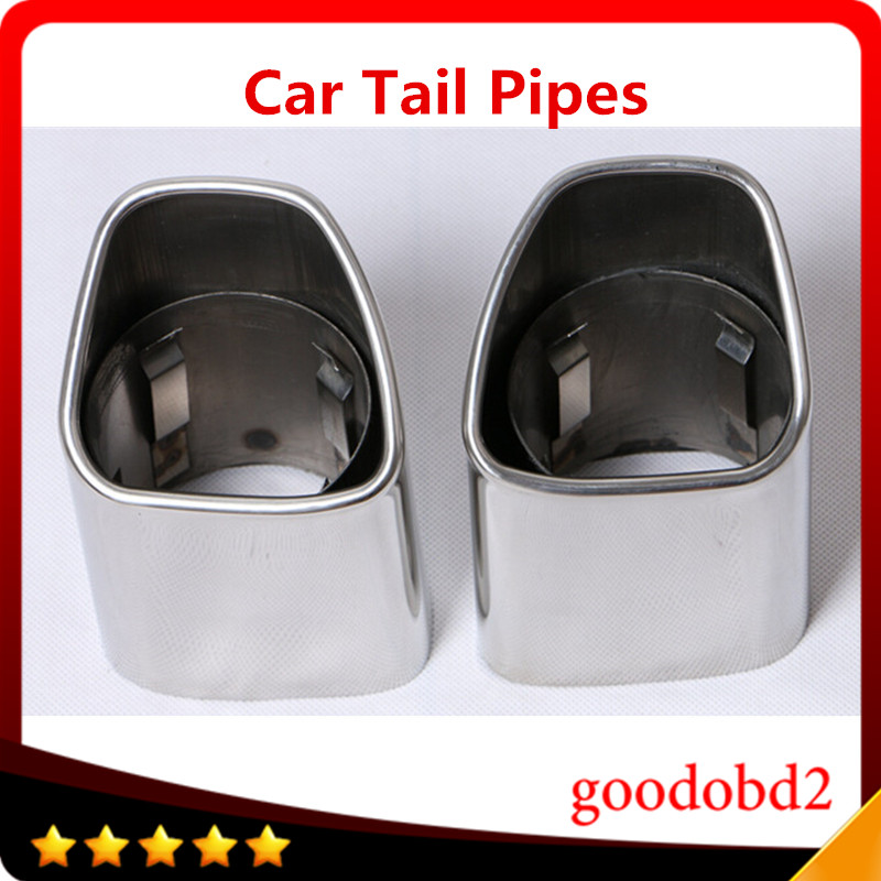 Newest Stainless Steel Auto Exhaust Muffler Exhaust Pipe Car Tail Pipes Fit For VOLVO XC90<br><br>Aliexpress