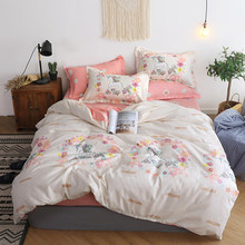 Pineapple Birthday Present Room Decoration Bedspread 5 Size Bedding Set (Duvet Cover Bed Flat Sheet Pillow Case)(China)