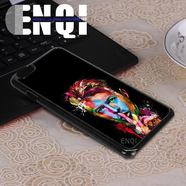 For iPhone 6 4.7'' Custom for acrylic painting portrait Cell Phones Case SM5-i6p0014(China (Mainland))