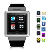2015 горячая распродажа 1.55 дюйм(ов) двухъядерный 4 ГБ Android 4.0 Smartwatch для iphone Samsung 3 г смартфон GPS WiFi APP Bluetooth
