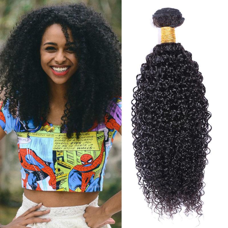 Peruvian Virgin Hair Afro Kinky Curly Hair 3PCs 6A Unprocessed Virgin Hair Extensions Peruvian Curly Weave Human Hair Bundles(China (Mainland))