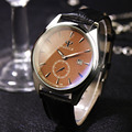 2016 YAZOLE watch chronograph British style business small second hand watch night light calendar watches relogio