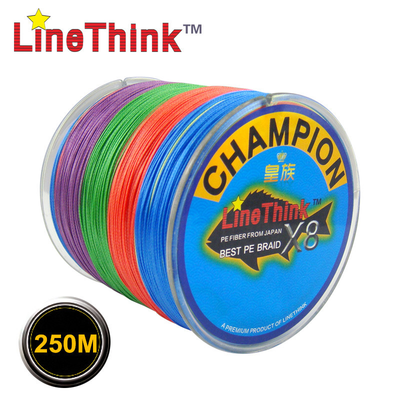 Buy 250m ghampion linethink brand for Best braided fishing line