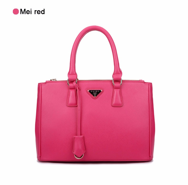 Luxury Designer Ladies PU Handbag Occident Style Elegant Fashion Hand Bag Women Classy Gorgeous Stylish Splicing Shoulder Bag
