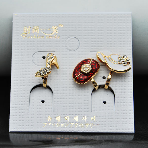 Exquisite small set earrings bags hat cushiest earrings oil bags no pierced earrings(China (Mainland))