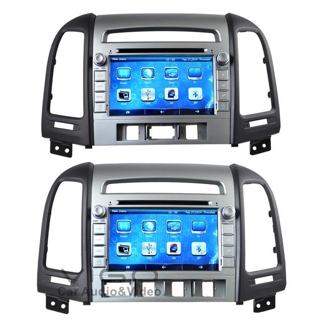 7 U0026 39  U0026 39  Vehicle Stereo Gps Navigation For Hyundai Santa Fe