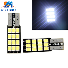 Buy YM E-Bright 20-100-500Pcs T10 2835 12 SMD CANbus Error Car Backup Light Side light Dashboard Door Light Nonpolarity for $11.75 in AliExpress store